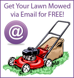 Free Lawn Mowing by Email