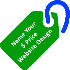 Name Your Price Website Design